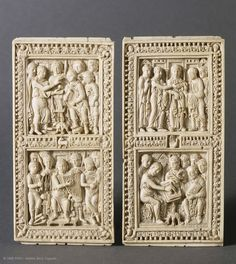 Precious Bindings on Medieval Art at Louvre Museum, Paris Christian World, Early Christian, Statues, Louvre Paris, Medieval Art, Objet D'art, Dark Ages, Tour Eiffel, Middle Ages