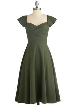Sew Idea Retro Dress 1940s