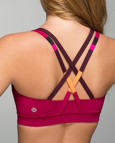 One of my favorite products from Lululemon- Energy Sports Bra