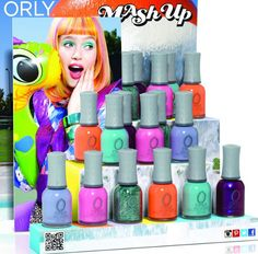 Orly Mash Up Collection Summer 2013.
