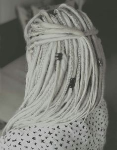 Perfect White dreads x