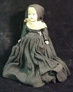 40's nun doll