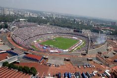 C.U. Olympic stadium - Mexico City... How can't you be in love with this <3