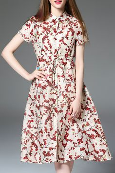 SWEETSMILE -  Button Up Midi Dress With Cami Dress
