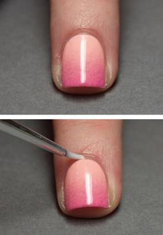 Unbelievably Brilliant French Manicures To Do At Home - How To Get The Ombre Nail Effect- Awesome DIY Tutorials and Step By Step Guides on How To Do the Perfect French Manicure - Articles on Easy Nailart Style Designs and Polish Products - Get Your Nails Looking Like They Came Out of The Top Salons - thegoddess.com/french-manicures-at-home