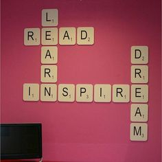 giant scrabble wall letter by copperdot | http://notonthehighstreet.com