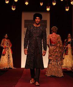 indian groom lookbook, sherwani
