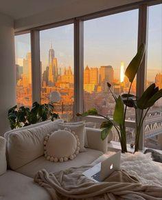 Dream Home Design, My Dream Home, House Design, Dream Life, Dream House Nyc, Apartment View, Dream Apartment, Apartment Goals, City Apartment Decor