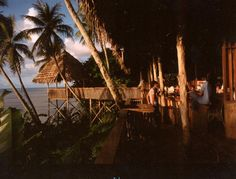 Pohnpei, Micronesia - we ate dinner here several times.