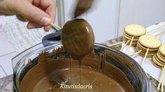 Receita Alfajor - Pirulito de bolacha Maria de Kitutis da Cris