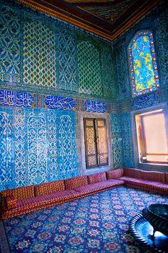 The Harem, Topkapi Palace (Topkapi Sarayi), Istanbul, Turkey