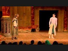 Colin Morgan Scenes in Shakespeare's The Tempest 2013.