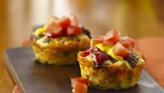Impossibly Easy Mini Cheeseburger Pie!!!!  www.bisquick.com