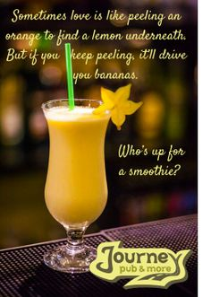 Smooth love or smoothie love?
