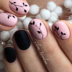 Designs for Round Nails Worth Stealing ★ See more: https://naildesignsjournal.com/round-nails-designs/ #nails