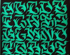 """Check out new work on my @Behance portfolio: """"Some calligraphy""""…"""