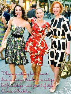 Carrie Bradshaw Quote Friendship