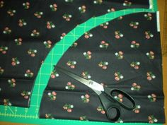 Half Circle Skirt: tutorial with zipper