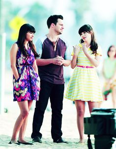 Fan of her dress Nick Miller, Girl Inspiration, New Girl, Movies And Tv Shows, Movie Tv, Couple Photos, Favorite Things, Bts, Dresses