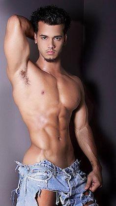 Hunk Latino Male Model