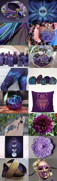 The Violet Eye by Jacquelyn on Etsy--Pinned with TreasuryPin.com