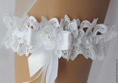 Lace wedding garter Womens gloves Garden hat by BridesdreamStore Ivory Wedding Garter, Bride Garter, Lace Garter, Bridal Lace, Blue Bridal, Garter Toss, Dresses Short, Sweet 16, Bridal Dresses