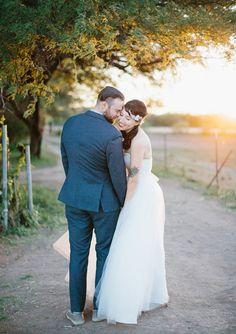 Eco friendly Arizona wedding | Real Weddings and Parties | 100 Layer Cake