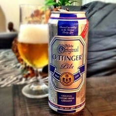 ! I´ve already drank this beer ! From Germany ! [Oettinger Pils - German Pilsner - 4.7%abv]