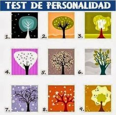 💟 personality test: look at the trees and choose the one that is immediately most appealing to you. Don't think about it too long, just choose, see what hits you first, and find out what your choice says about your personality! Infp, Just Me, Just In Case, Les Chakras, Decir No, Everything, Fun Facts, Projects To Try, At Least