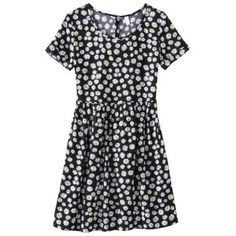 Xhilaration® Junior's Babydoll Dress - Assorted Colors from Target. Saved to dresses & skirts. Flowery Dresses, Cute Dresses, Summer Dresses, Daisy Dress, Babydoll Dress, Chic Outfits, Short Sleeve Dresses, How To Wear, Clothes