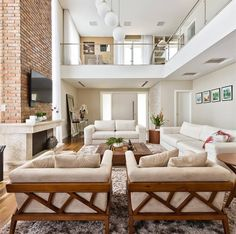 modern house design interior trends to copy in year 2019 19 Dream House Interior, Dream Home Design, Modern House Design, Contemporary Interior Design, Home Interior Design, Contemporary Houses, Room Interior, Home Living Room, Living Room Designs