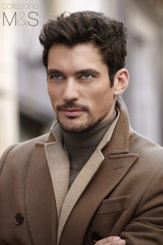 Oh, gods-of-all-things-beautiful-especially-David Gandy, may I just tell you that he leaves me speechless at times. Thanks be to the gods-of-all-things-beautiful-and-sexy! Mens Hairstyles Widows Peak, Trendy Mens Hairstyles, Business Hairstyles, Haircuts For Men, Layered Haircuts, Medium Hairstyles, David Gandy, Sharp Dressed Man, Well Dressed Men