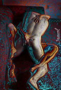 Walking, inside you #eroticart by #Samarel