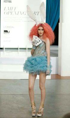 The Look: Wonderland - L'Oreal Melbourne Fashion Festival.