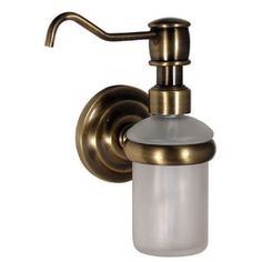 Bathroom Accessories Prestige Que New Wall Mounted Soap Dispenser By Allied Br Kitchensource