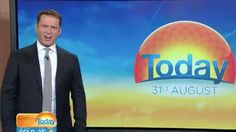 Today show hosts Karl Stefanovic and Lisa Wilkinson shocked at seeing a large Great White jump out of water.