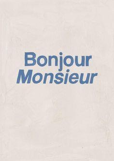 HOTEL MAGIQUE Bonjour Monsieur greeting card SHOP ONLINE
