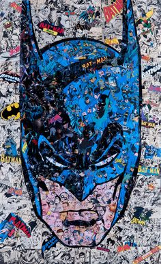 Batman Collage by Mr. Garcin