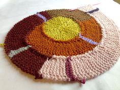 Frankie Brown 10 stitch twist circular round spiral blanket pattern