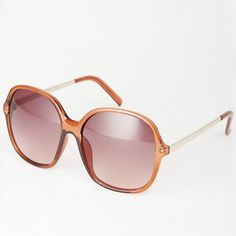 New Look Retro Oversized Sunglasses - Protect your sight from the sun's damaging rays