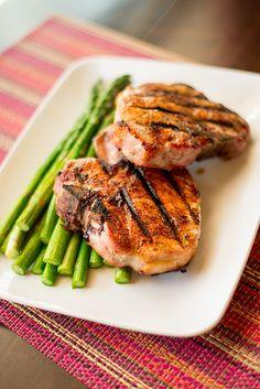 Pork Chops with Carolina Spice Rub by asweetpeachef: Lean protein. #Pork_Chops