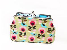 Clipbörse kleine Kosmetiktasche Geldbörse Clips, Coin Purse, Purses, Wallet, Etsy, Small Makeup Bag, Beautiful Gifts, Small Bags, Cats