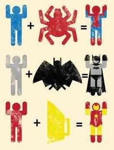 Superheros ! Marvel Avengers, Avengers Humor, Marvel Jokes, Marvel Heroes, Movies Costumes, Poster Minimalista, Im Batman, Funny Superman, Batman Spiderman