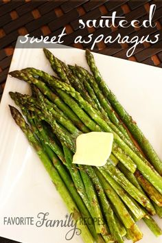 Sweet Sauteed Asparagus