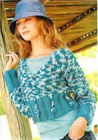 Delicadezas en crochet Gabriela: 38 Prendas tejidas paso a paso Pullover, Hats, Sweaters, Style, Fashion, Tricot, Knit Wrap, Sweater Knitting Patterns, Sweaters Knitted