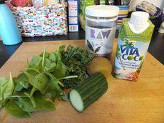 Low-FODMAP Green Smoothie Ingredients