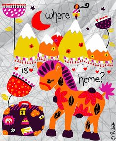 Where is home? -- Rebekah Ginda Design