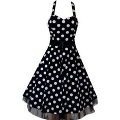 Polka Dots Dresses in the 50s Style will never be oldfashioned...