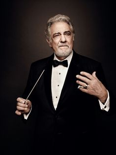 Plácido Domingo, by Art Streiber for Vanity Fair Spain