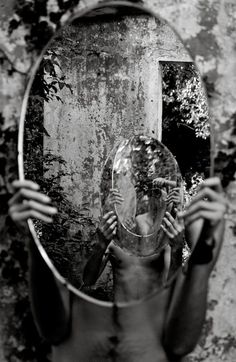 Reflect   mirror image   reflection of ourselves   black & white photography…